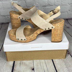 NWT Jessica Simpson Morgani Platform Sandal